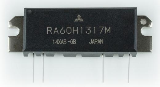 RA60H1317M MOSFET-Power-Modul, 60 W, 130-170 MHz