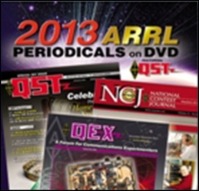 ARRL-Periodicals 2013 DVD (QST, NCJ, QEX)
