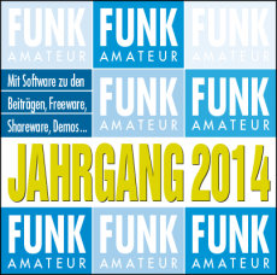 FUNKAMATEUR Jahrgangs-CD 2014 (Sonderpreis für Abonnenten)