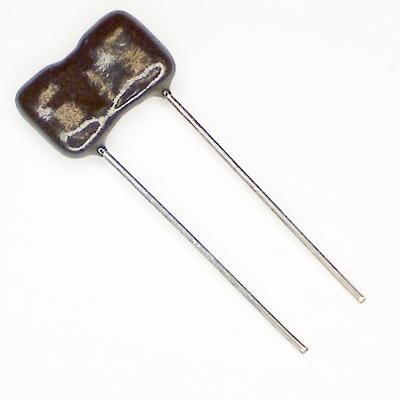 Glimmerkondensator 15 pF / 500 V