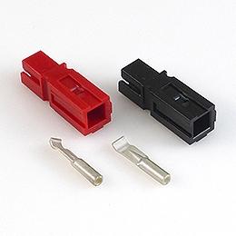 Anderson Powerpole®-Kontaktpaar 15 A, rot/schwarz