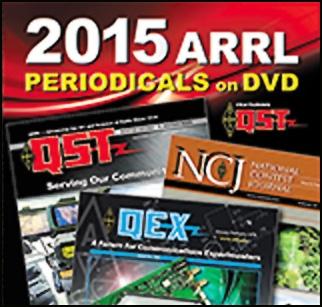 ARRL-Periodicals 2015 DVD (QST, NCJ, QEX)