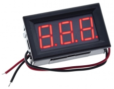 3 stelliges LED-Display / Voltmeter
