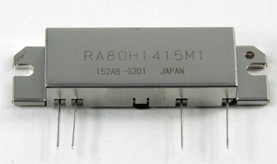 RA80H1415M1 MOSFET-Power-Modul, 80 W, 144-148 MHz