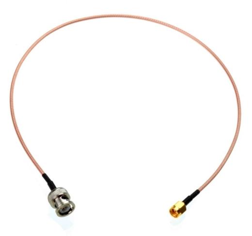 BNC-SMA-Kabel (0,30 m), Kabeltyp RG316