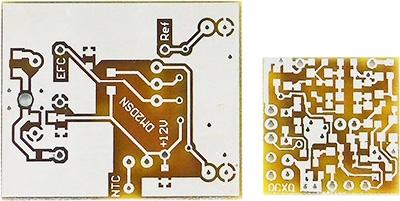 Platinensatz für 100-MHz-OCXO nach DM2DSN (unbestückt)