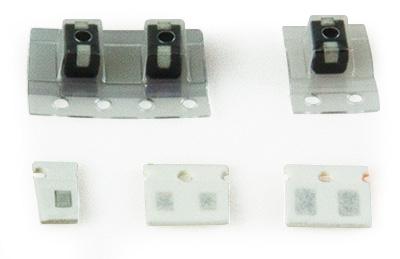 Passive Bauelemente für 20-m-Eingangsbandfilter (Kit 3.4)
