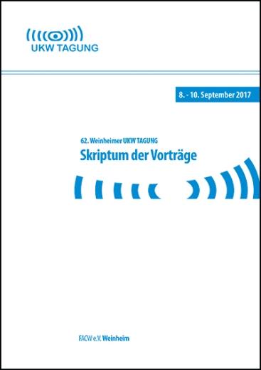 62. Weinheimer UKW-Tagung 2017