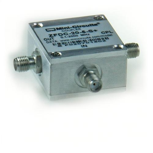 Richtkoppler 0,1 MHz - 2 GHz, 20 dB Auskopplung