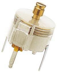 Folientrimmer 2–5,5 pF ø 7,5 mm