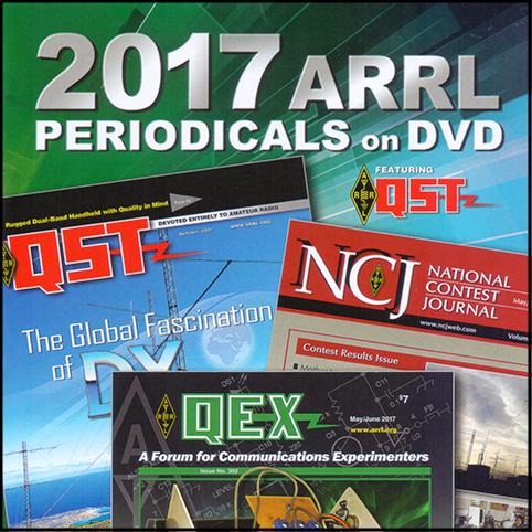 ARRL-Periodicals 2017 DVD (QST, NCJ, QEX)