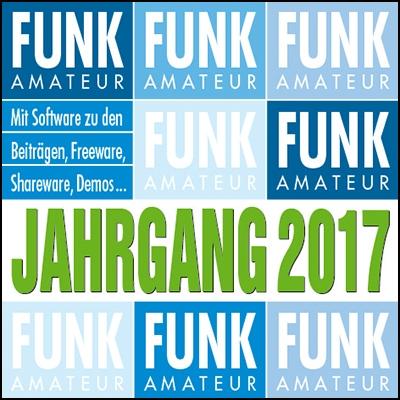 FUNKAMATEUR Jahrgangs-CD 2017