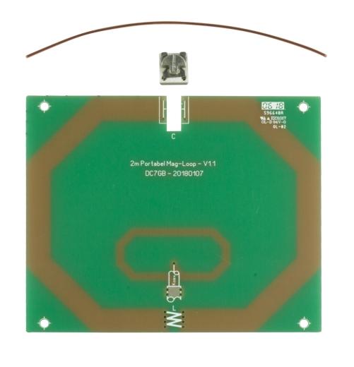 Portabel-Magnetschleifenantenne für das 2-m-Band