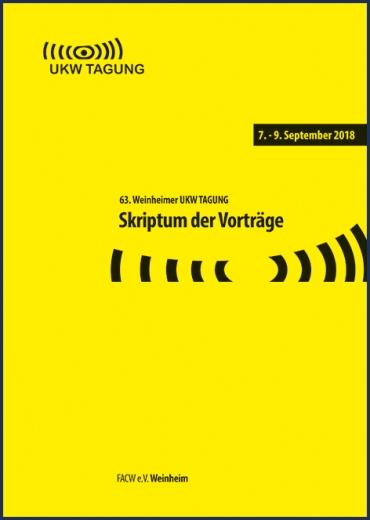 63. Weinheimer UKW-Tagung 2018