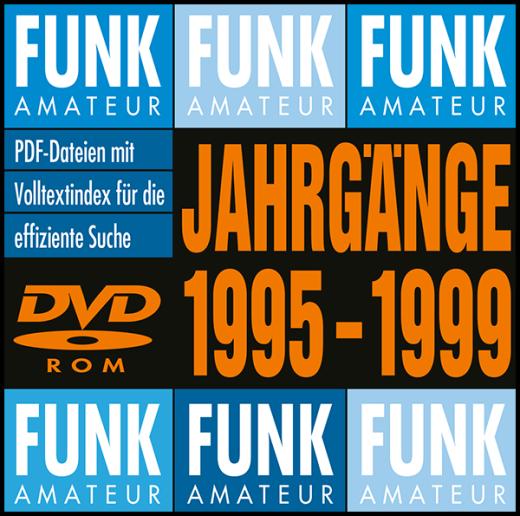 FUNKAMATEUR-Archiv-DVD 1995-1999