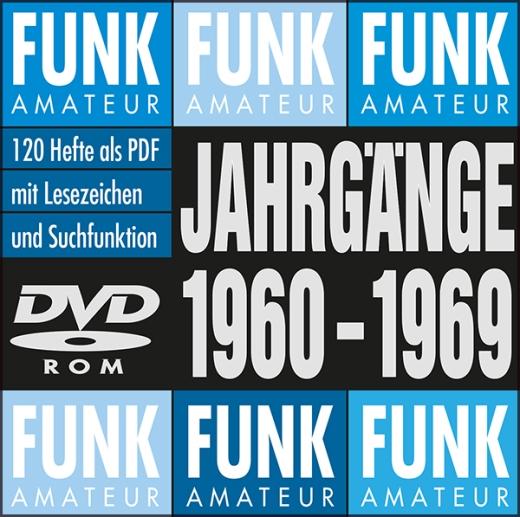 FUNKAMATEUR-Archiv-DVD 1960-1969