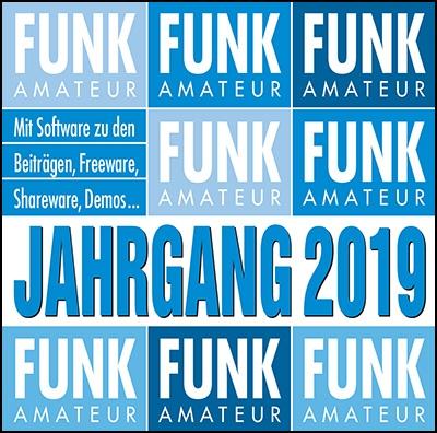 FUNKAMATEUR Jahrgangs-CD 2019
