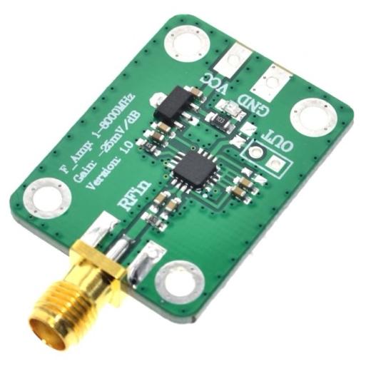 HF-Leistungsmesser-Modul von 1 MHz bis 8000 MHz