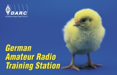 100 No-Name-QSL-Karten, Amateur Radio Training Station