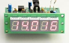 45-MHz-Zähler mit CMOS-ICs, Bausatz