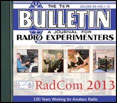 RadCom CD 2013