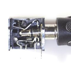 Stereo-Buchse, 3,5 mm Durchmesser