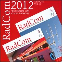 RadCom CD 2012
