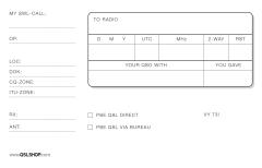 100 No-Name-QSL-Karten, Deutschland (SWL)