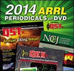 ARRL-Periodicals 2014 DVD (QST, NCJ, QEX)