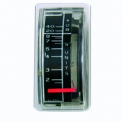 Einbauinstrument 1 mA, Skala S2...S9...+20...+40 dB