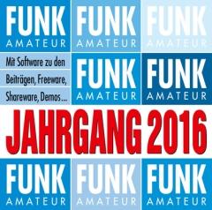 FUNKAMATEUR Jahrgangs-CD 2016