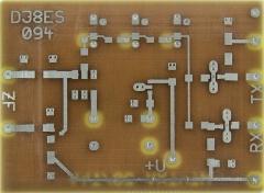 Platine für den 2-m-Mini-Transverter nach DJ8ES (FA 04/17)