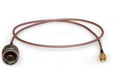 N-SMA-Kabel (0,60 m), Kabeltyp RG316