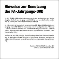 FUNKAMATEUR-Archiv-DVD 1970-1979