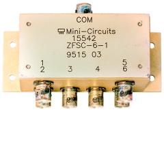 Power-Splitter/Combiner 1 MHz - 175 MHz, 1 W, BNC-Buchsen
