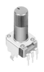 Potenziometer 500 kΩ, linear, vertikal