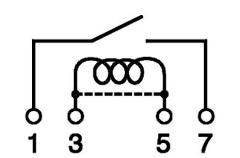 SIL-Relais 12 V