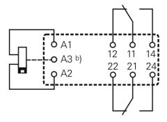 Bistabiles Leistungsrelais RT424F12 (Schrack)