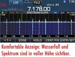 Mikrofon mit Sendespeicher-Abruf für Icom-Transceiver, Bausatz