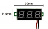3-stelliges digitales Voltmeter
