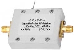 HF-Leistungsmesser-Modul von 1 MHz bis 600 MHz im gefrästen Alu-Gehäuse