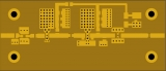 Platine für 13-cm-Treiberverstärker nach DL2EWN (FA 4/2020)