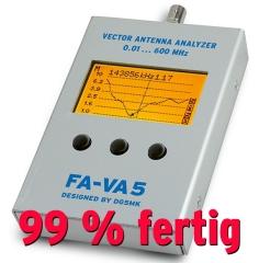 FA-VA 5 - Vektorieller Antennenanalysator (fast fertig)