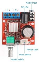 NF-Verstärker-Modul 2x10W, mit Lautstärkeregler