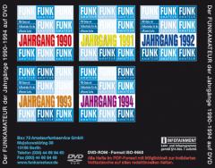 FUNKAMATEUR-Archiv-DVD 1990-1994